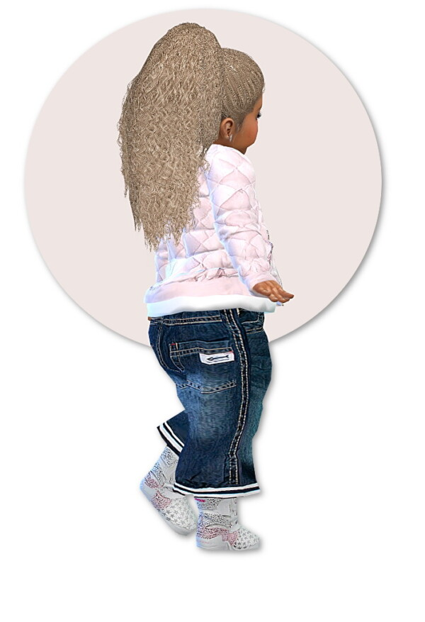 Designer Set for Toddler Girls from Sims4 boutique