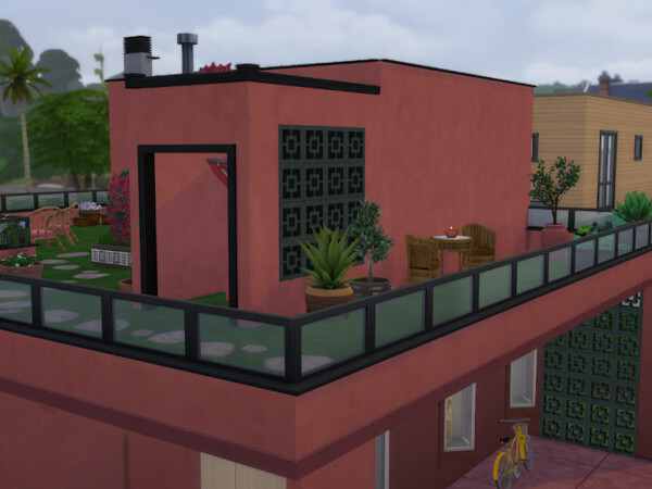 The Healers House from KyriaTs Sims 4 World