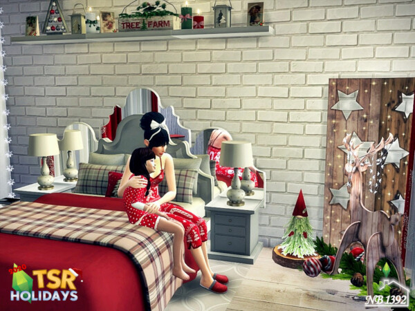 Holiday Wonderland  Bedroom by nobody1392 from TSR