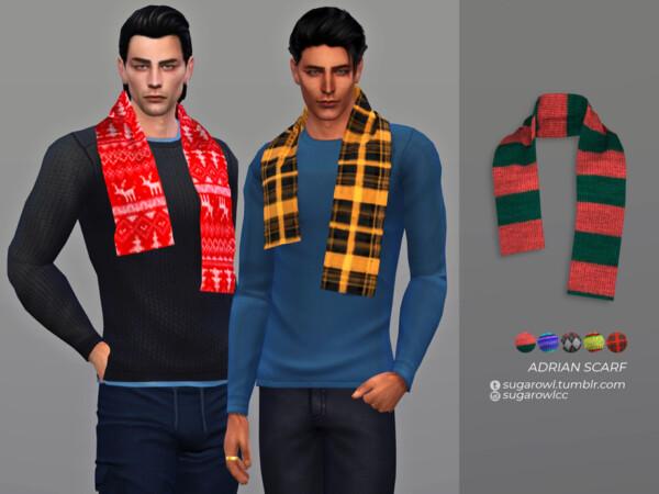 Adrian scarf by sugar owl from TSR