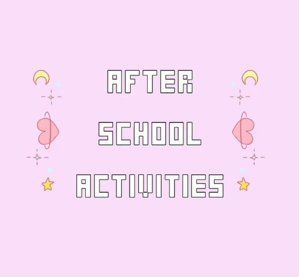 After School Activities from Kawaiistacie