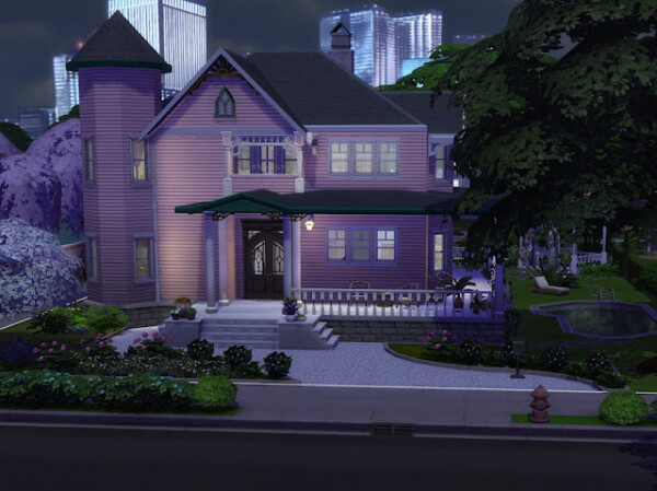 Annie Nugents House from KyriaTs Sims 4 World