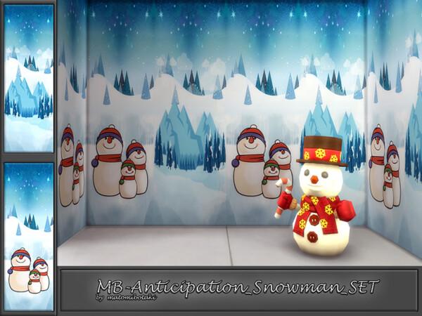 Anticipation Snowman by matomibotaki from TSR