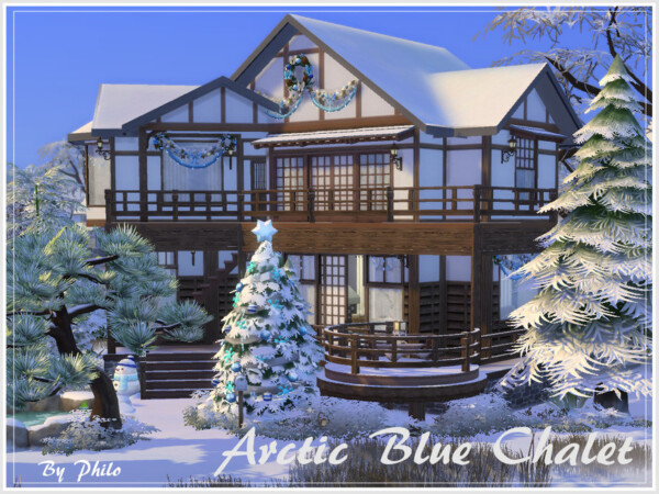 Arctic Blue Chalet by philo from TSR