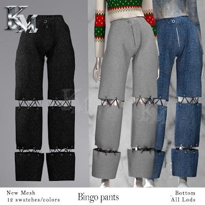 Bingo Pants from KM