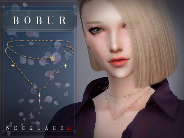 Necklace 21 by Bobur from TSR