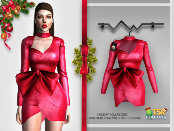 Bow Dress BD373 by busra tr from TSR