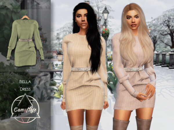 Bella Dress by Camuflaje from TSR