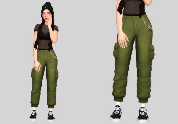 Cargo pants from Casteru