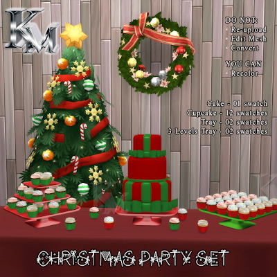 Christmas Party Set from KM