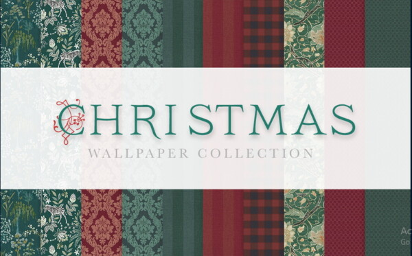 Christmas Wallpaper Collection from Simplistic