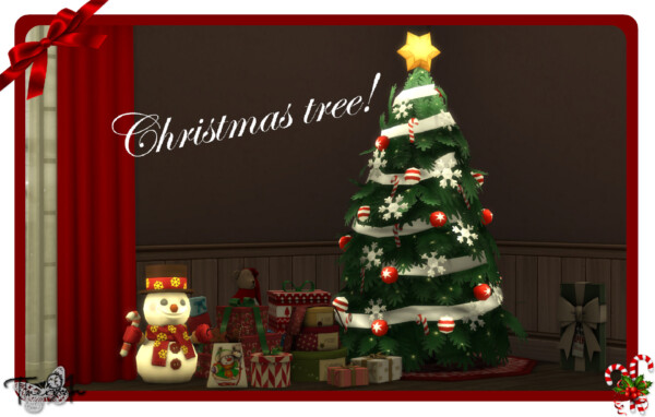Christmas tree recolor by therran91 from Mod The Sims