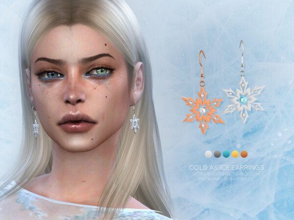 Cold As Ice earrings by sugar owl from TSR