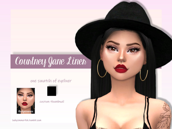 Courtney Jane Liner by LadySimmer94 from TSR