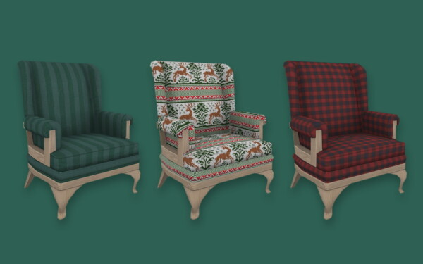 Cozy Christmas Chair from Simplistic