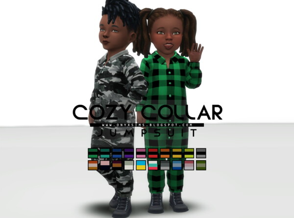 Cozy Collar Jumper from Onyx Sims