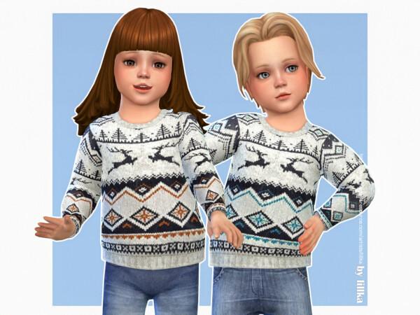 Cozy Winter Sweater 10 by lillka from TSR