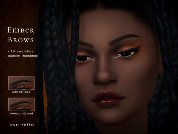 Ember Brows by Eva Zetta from TSR