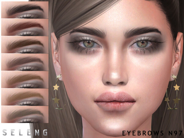 Eyebrows N97 by Seleng from TSR