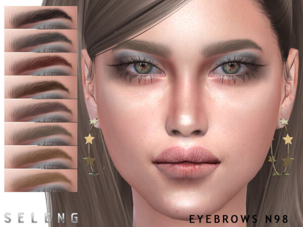 Eyebrows N98 by Seleng from TSR