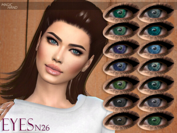 Eyes N26 by MagicHand from TSR