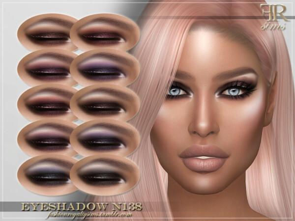 Eyeshadow N138 by FashionRoyaltySims from TSR