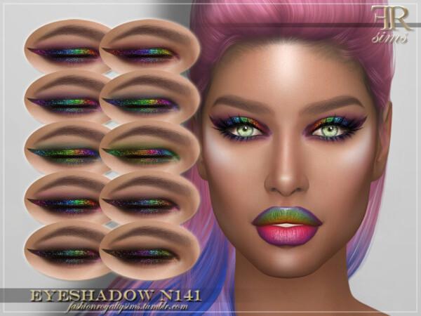 Eyeshadow N141 by FashionRoyaltySims from TSR