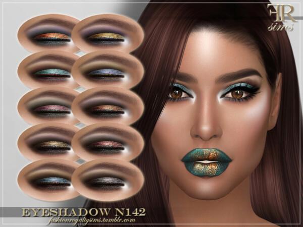 Eyeshadow N142 by FashionRoyaltySims from TSR