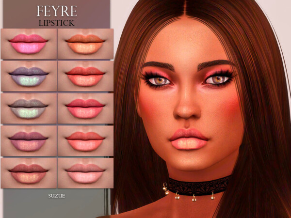 Feyre Lipstick N16 by Suzue from TSR