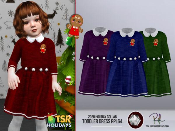 Holiday Wonderland Dress by RobertaPLobo from TSR