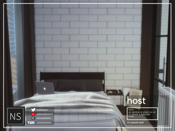 Host Brick Walls by Networksims from TSR