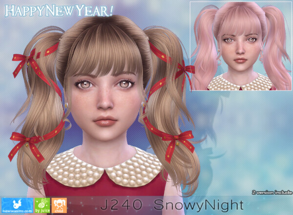 J240 Snowy Night Donation Hair from NewSea