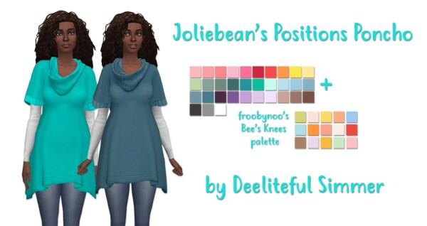 Jolibean`s Positions Poncho from Deelitefulsimmer
