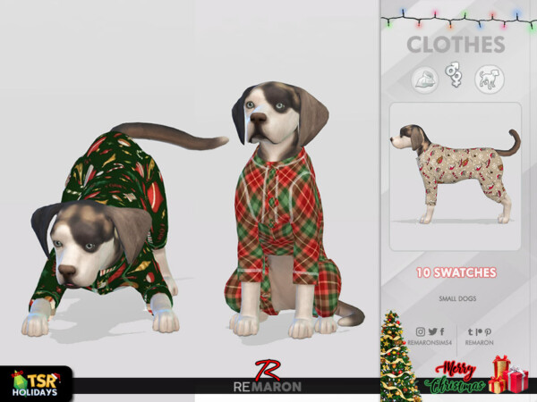 Jumpsuits for Small Dogs 01 by remaron from TSR