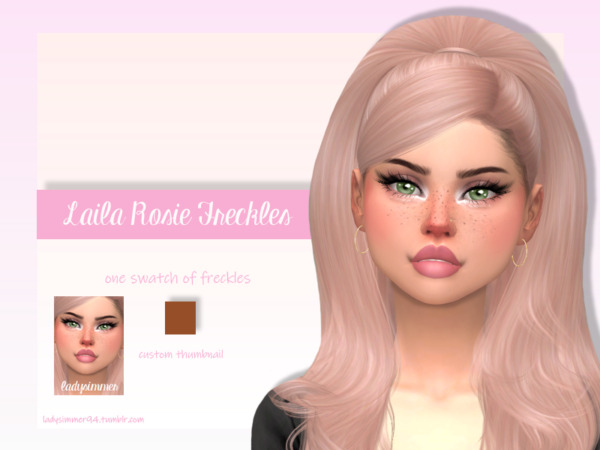 Laila Rosie Freckles by LadySimmer94 from TSR