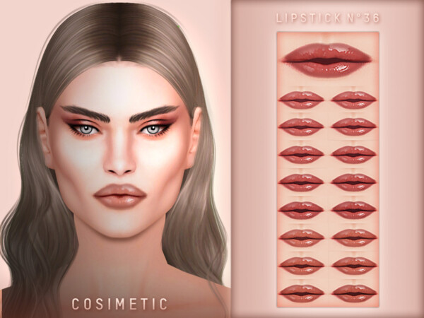Lipstick N36 by cosimetic from TSR