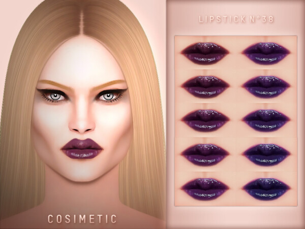 Lipstick N38 by cosimetic from TSR