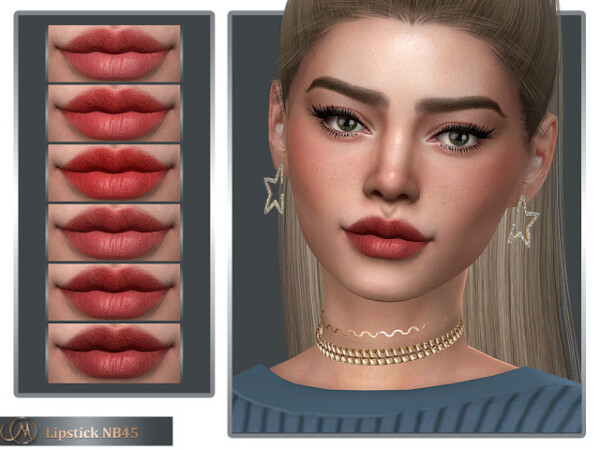 Lipstick NB45 from MSQ Sims