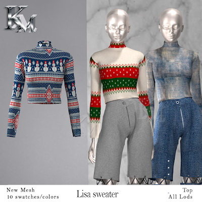 Lisa Sweater from KM