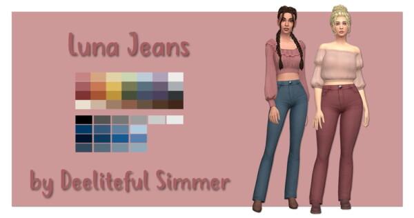 Luna Jeans from Deelitefulsimmer