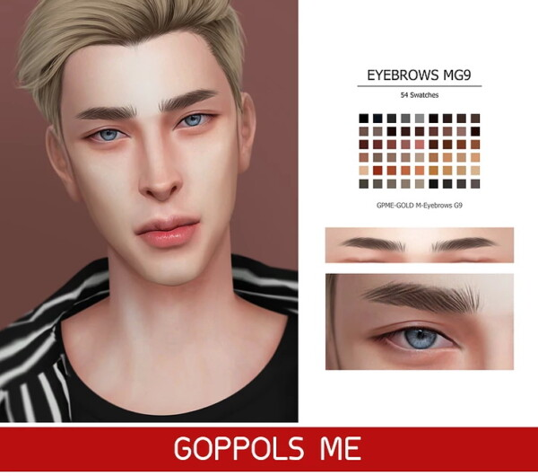 M Eyebrows G9 from GOPPOLS Me