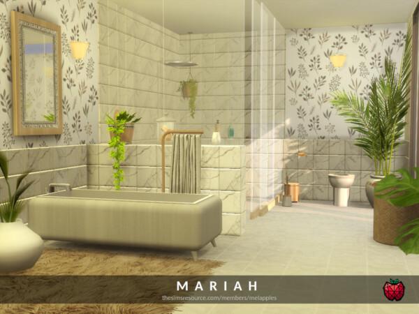 Mariah  bathroom by melapples from TSR