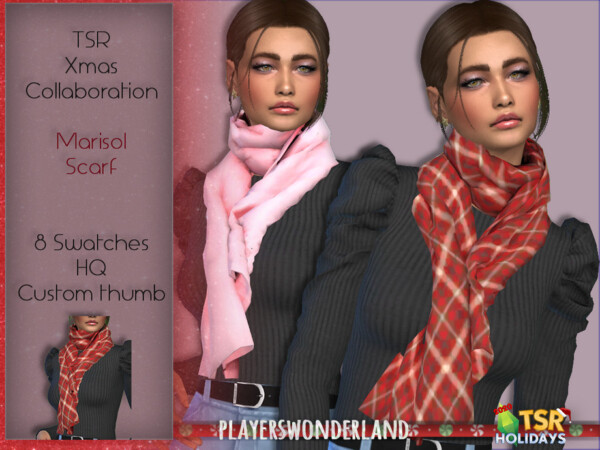 Marisol Scarf by PlayersWonderland from TSR