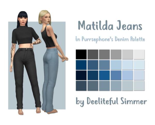 Matilda Jeans from Deelitefulsimmer