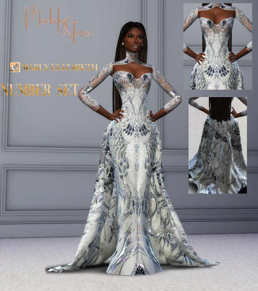 Number Gown And ACC from Mably Store