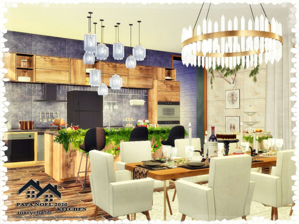 Kitchen with Dining by marychabb from TSR