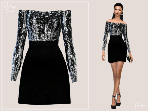 Partytime Dress by Paogae from TSR