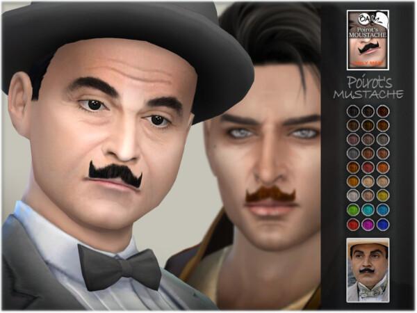 Poirots Mustache by BAkalia from TSR