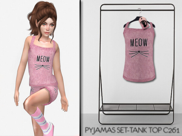 Pajamas Set Tank Top C261 by turksimmer from TSR
