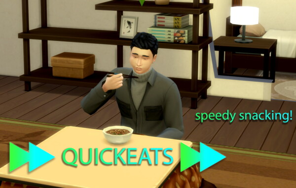 QuickEats by Mikya from Mod The Sims